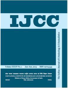 Indian Journal of Criminology & Criminalistics (ISSN 0970 - 4345), Vol .34 No. 1 Jan- June,2015, p.141-152