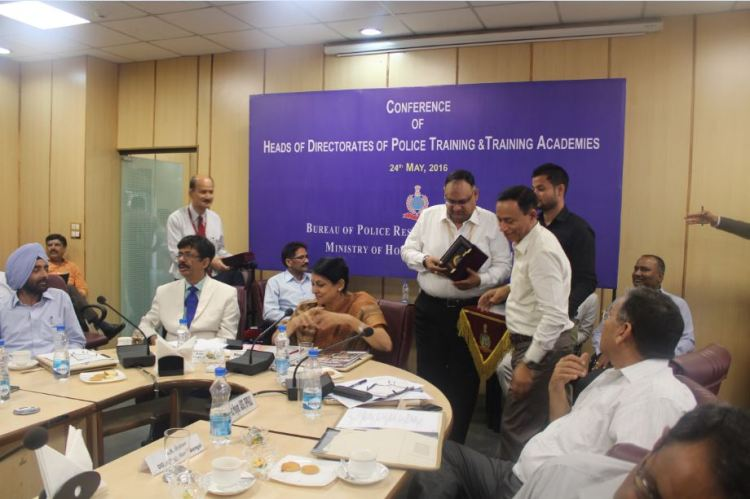 Shri Sandeep Mittal, IPS, DIG (Admin) at Conference of Heads of Police Training Institutions/ Directorate of Police Training