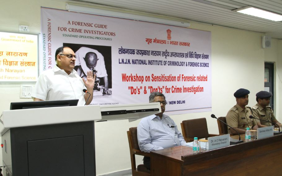 Opening remarks by Sh. Sandeep Mittal, IPS, DIGP (Admin) NICFS