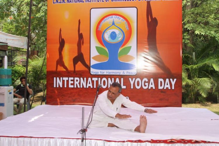 instructor initiated the yoga activites