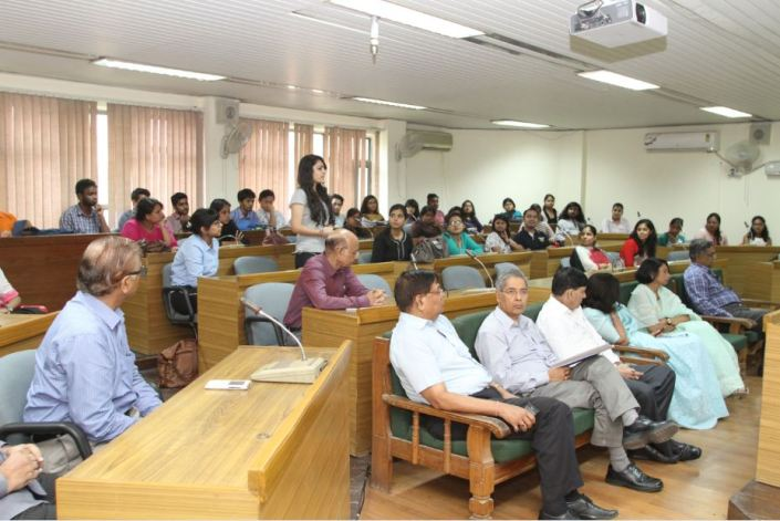 New students in Orientation programme